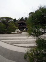 Another shot of the sand garden at Ginkaku-ji, with cone in background. How do they do that cone?!