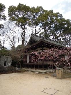 The shrine.