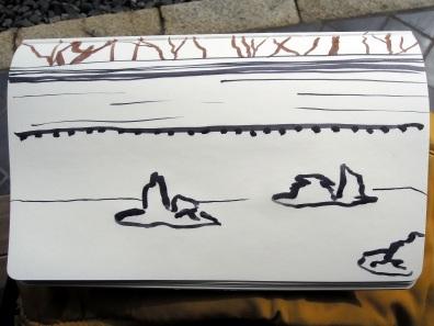 Third sketch, very fast.