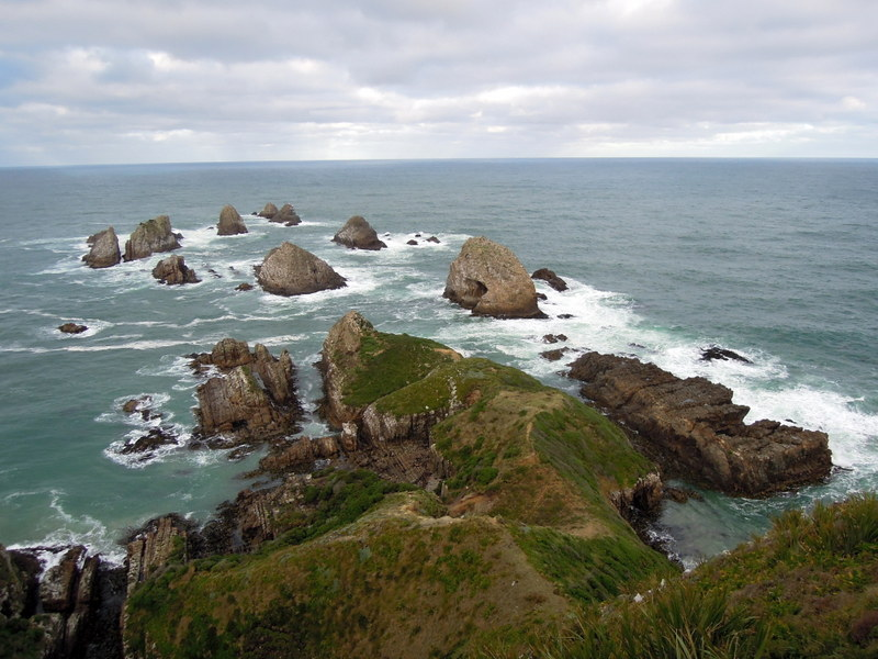 The nuggets of Nugget Point, New Zealand