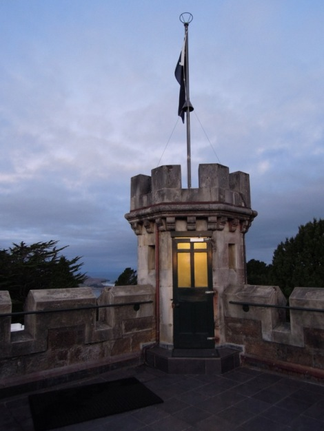 Tower, Larnach Castle, New Zealand