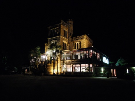 Larnach Castle, New Zealand, by night