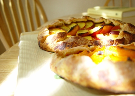 2002 apricot and nectarine galettes