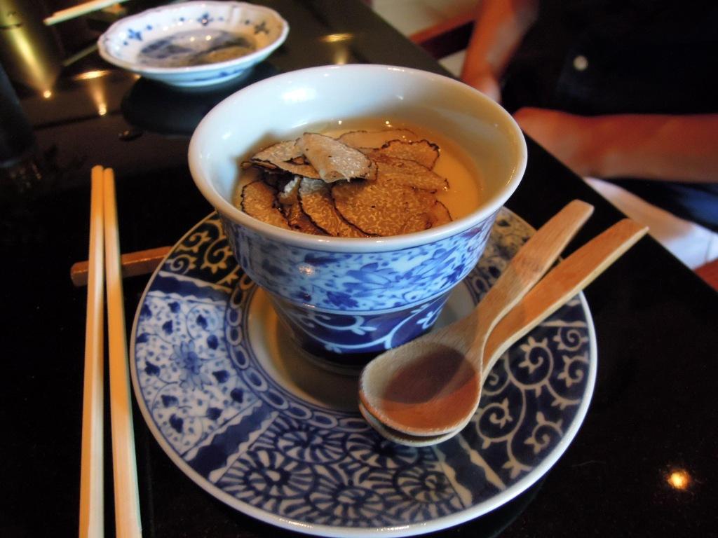 Summer truffle chawan mushi