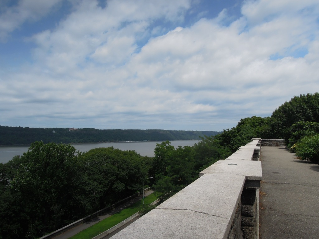 Overlooking the Hudson River, in Fort Tryon Park