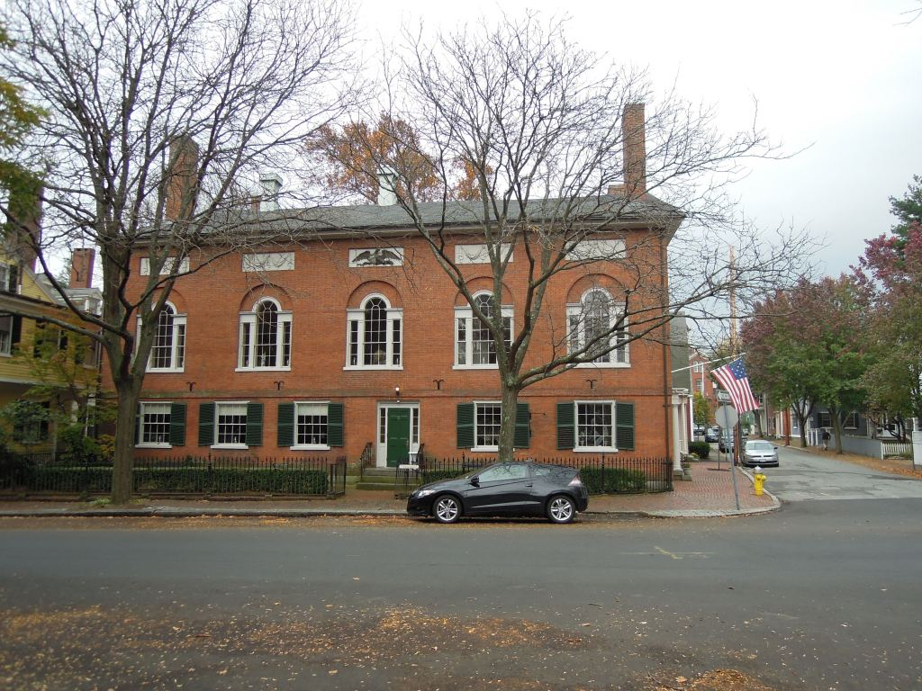 Georgian brick building