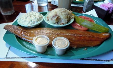 2014 Jan 18 - Smoked mackerel