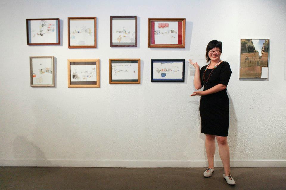 Lisa Hsia at APAture 2014, photo by Astra Kim / Kearny Street Workshop