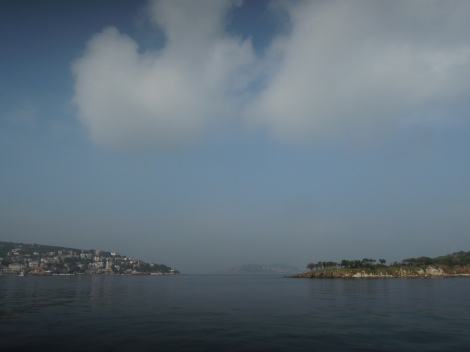 Princes Islands, Istanbul, as seen from a boat