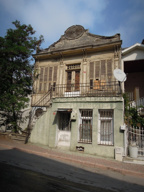 Old house, Heybeliada, Princes Islands, Istanbul