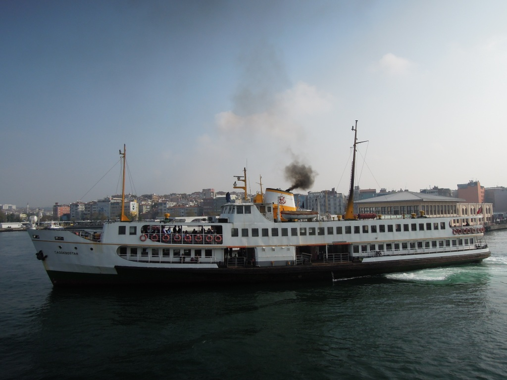 Sehir Hatlari public ferry in Istanbul