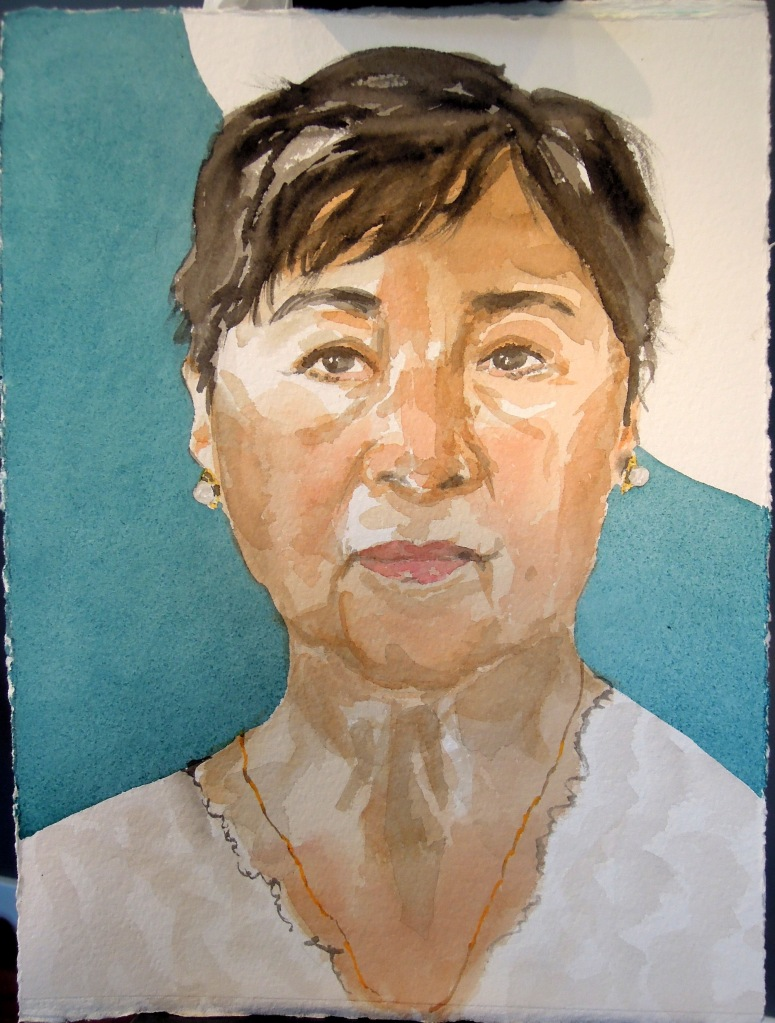 Portrait of M., by Lisa Hsia