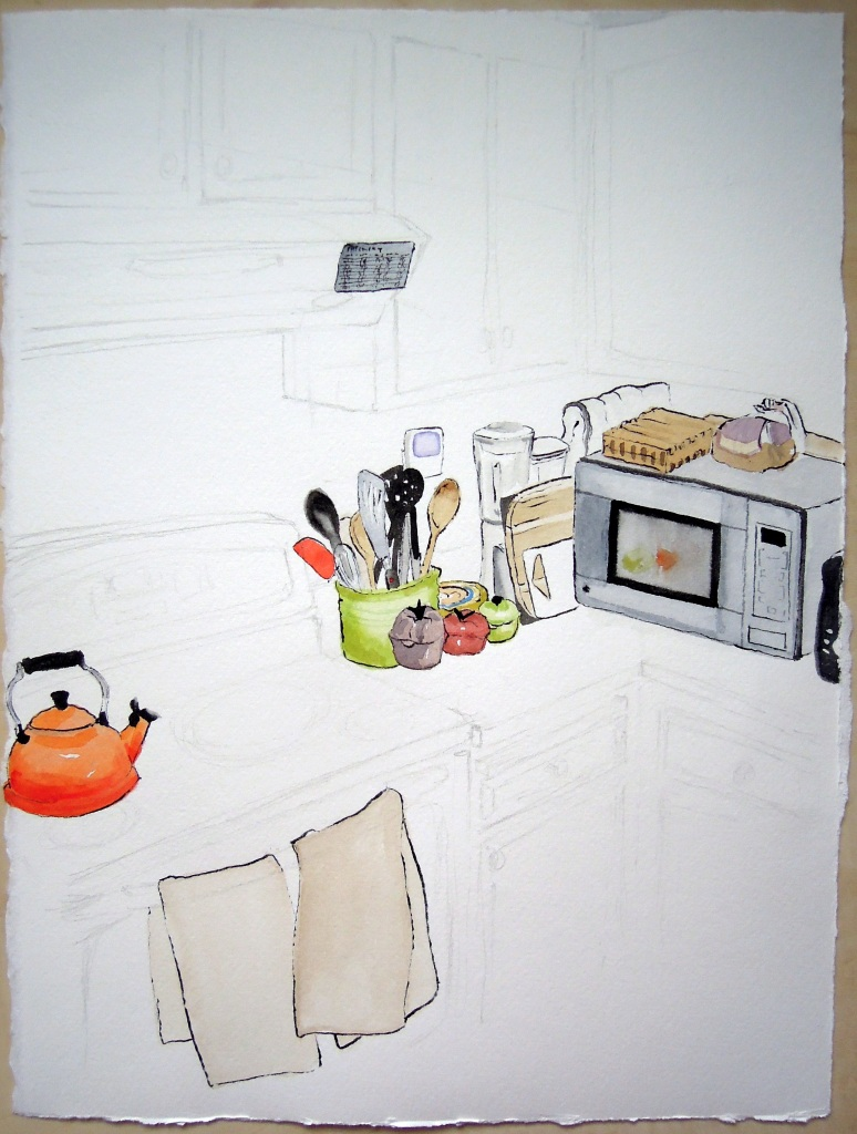 Kitchen portrait: EurJean and Bobby, by Lisa Hsia