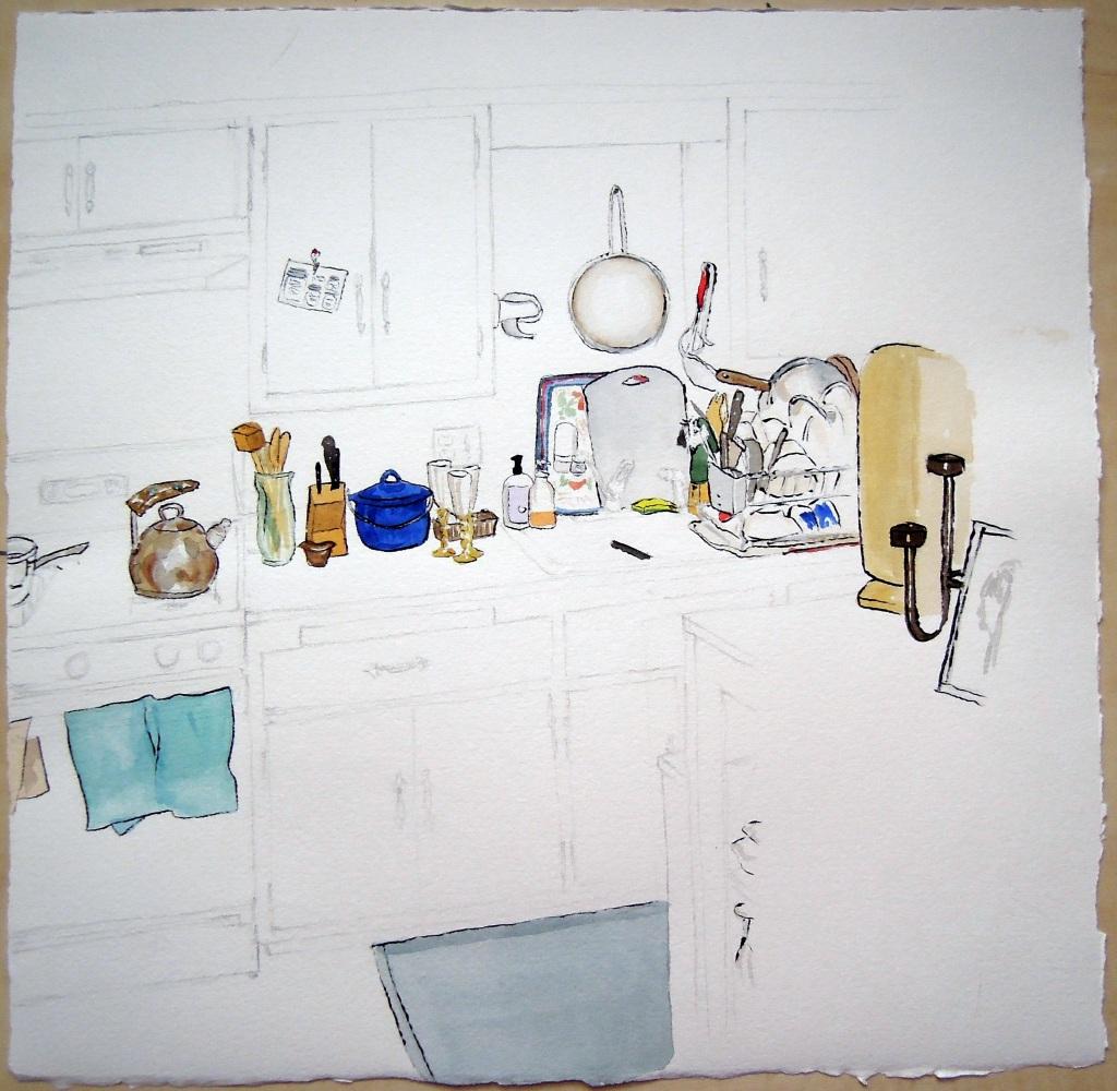 Kitchen portrait: Lisa Marie, by Lisa Hsia