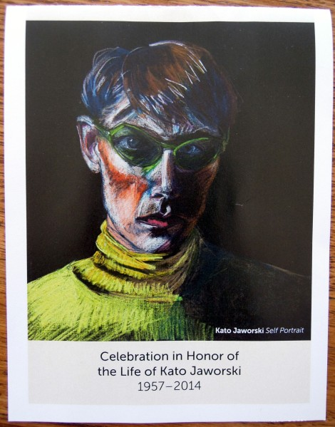 Celebration in Honor of the Life of Kato Jaworski, 1957-2014, at the Richmond Art Center