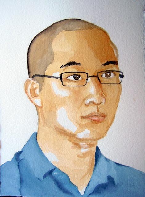 Portrait of Erik, by Lisa Hsia