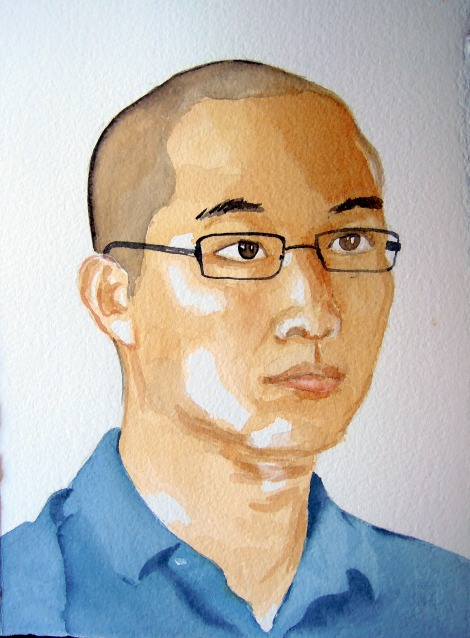 Portrait of Erik, by Lisa Hsia