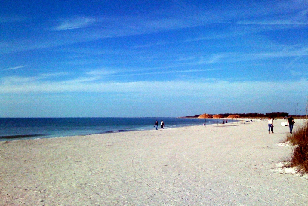 Beach at Fort De Soto, Pinellas County, Florida