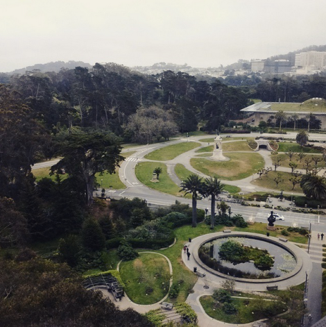 View from the tower at the De Young Museum, San Francisco (via Satsumabug on Instagram)