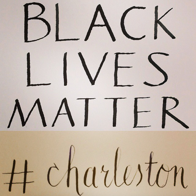 Black Lives Matter #charleston