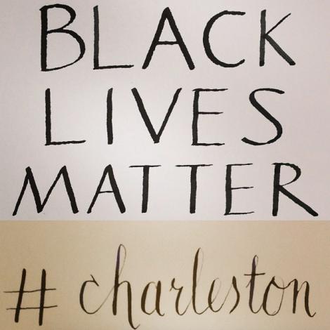 Black Lives Matter #charleston