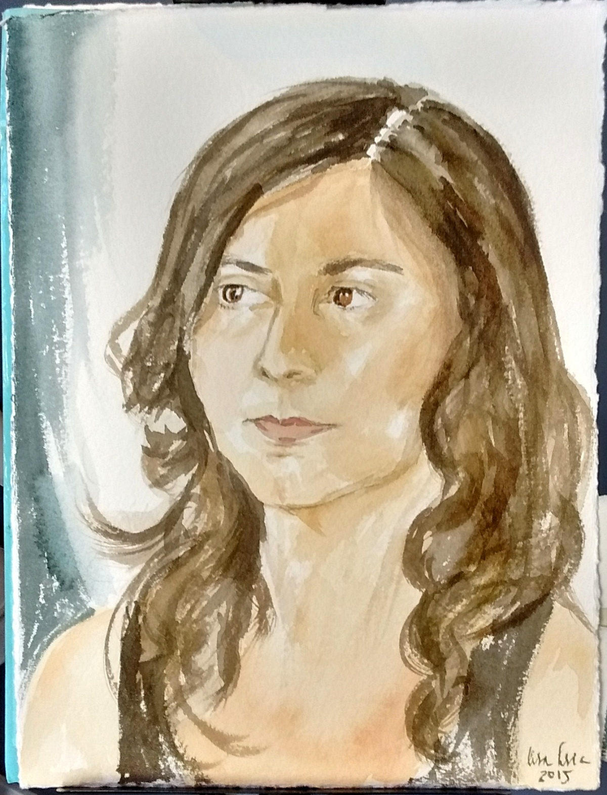 Portrait of Roula
