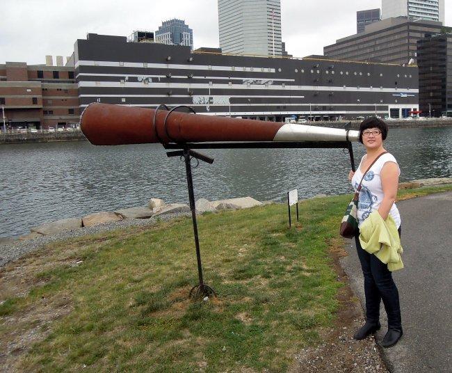 Lisa and Fort Point Soundscape, September 2013