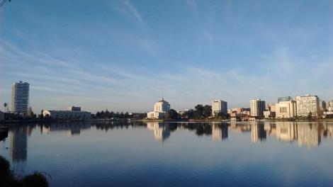 Lake Merritt on a January morning