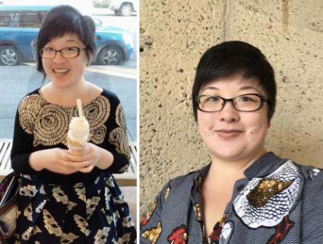 Lisa in 2015 vs 2017