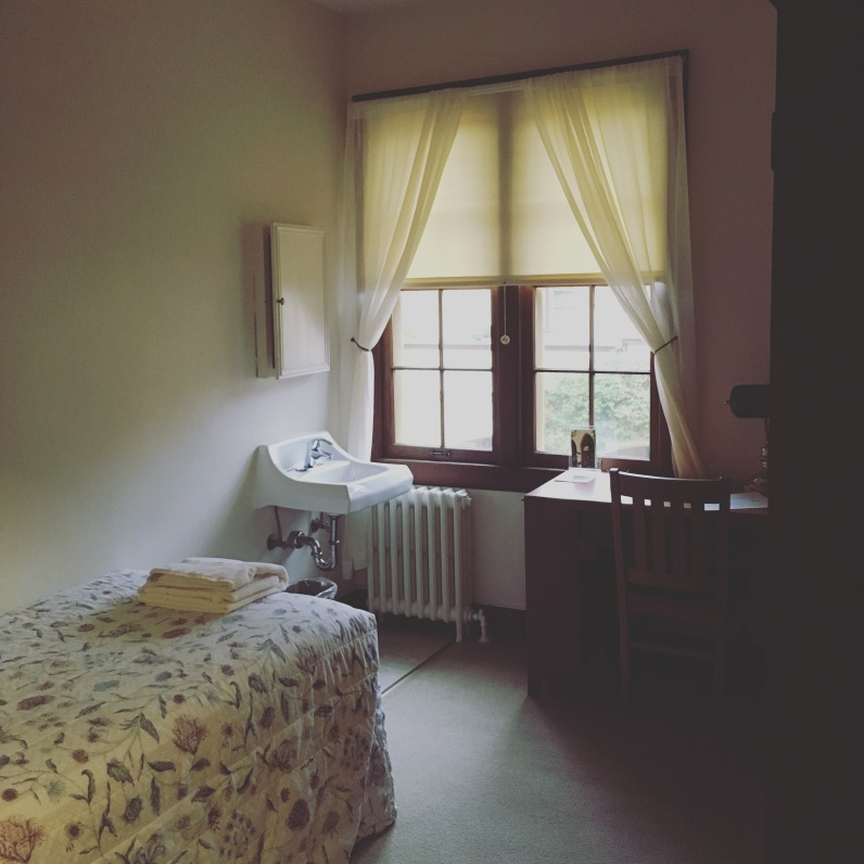 Single room, Santa Sabina Center, San Rafael, CA