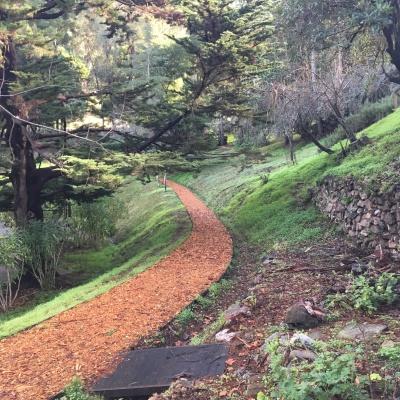 Grounds of Santa Sabina Center, San Rafael, CA