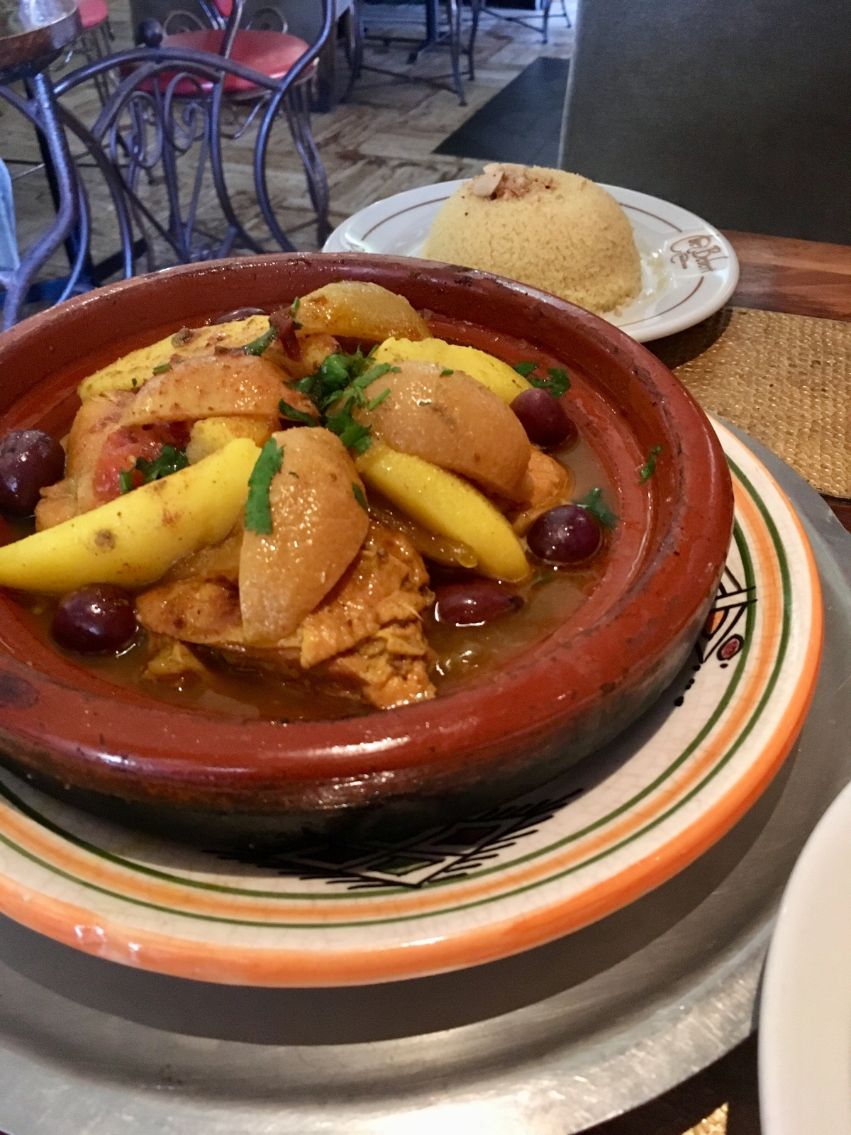 Chicken tagine, Chez Bebert, Paris